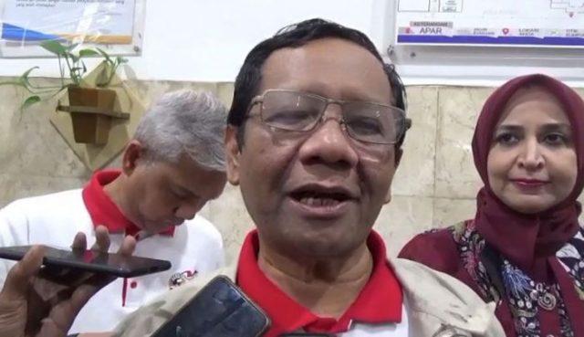 Ketua Gerakan Suluh Kebangsaan Mahfud MD