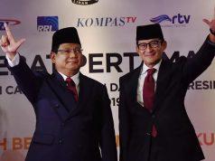 Capres-cawapres nomor urut 02 Prabowo-Sandiaga Uno