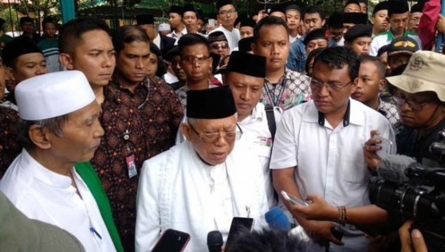 Deklarasi Jaringan Kiai dan Santri Nasional (JKSN) Dukung Jokowi-Ma'ruf Amin