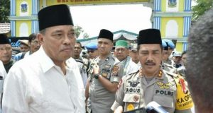 Kapolda Sumut dan Walikota Tebingtinggi