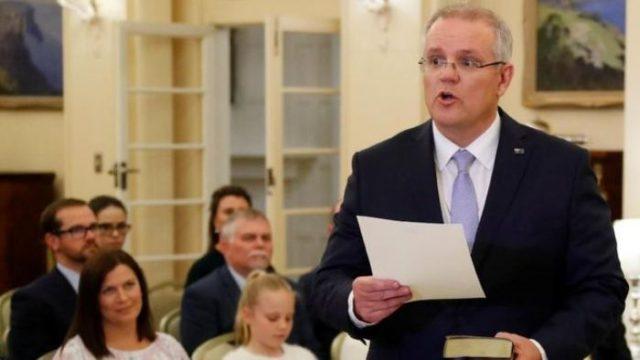 Perdana Menteri Australia, Scott Morrison.