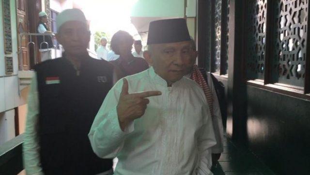 Amien Rais di Masjid Sunda Kelapa jelang apel siaga 313