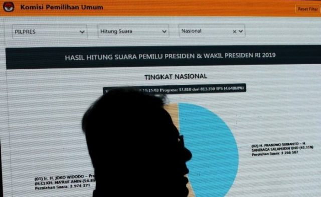 Arsip Siluet Ketua KPU Arief Budiman