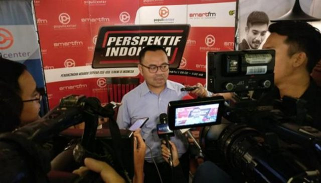 Direktur Materi dan Debat, Badan Pemenangan Nasional Prabowo-Sandiaga Uno, Sudirman Said,