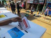 Ilustrasi pemilihan suara.