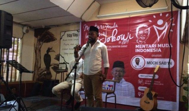 Kaum Muda Kalimantan Barat Deklarasi Dukung Jokowi
