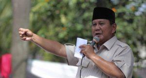 Prabowo hadiri syukuran kemenangan