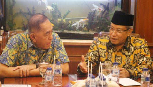Menhan RI dan Ketum BNU di Jakarta