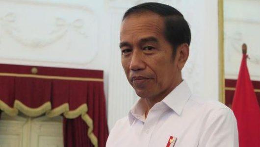 Calon presiden Joko Widodo dan pasangannya, Ma'ruf Amin, diminta didiskualifikasi sebagai peserta Pilpres 2019. (CNN Indonesia/Feri Agus Setyawan)