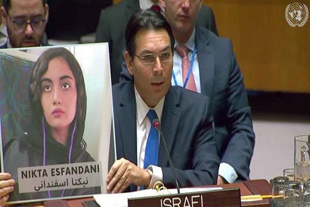 Duta Besar Israel untuk PBB Danny Hanon