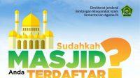 Cara mendaftarkan masjid musala ke dalam SIMAS Kemenag